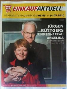 Bild mit Rüttgers und Frau